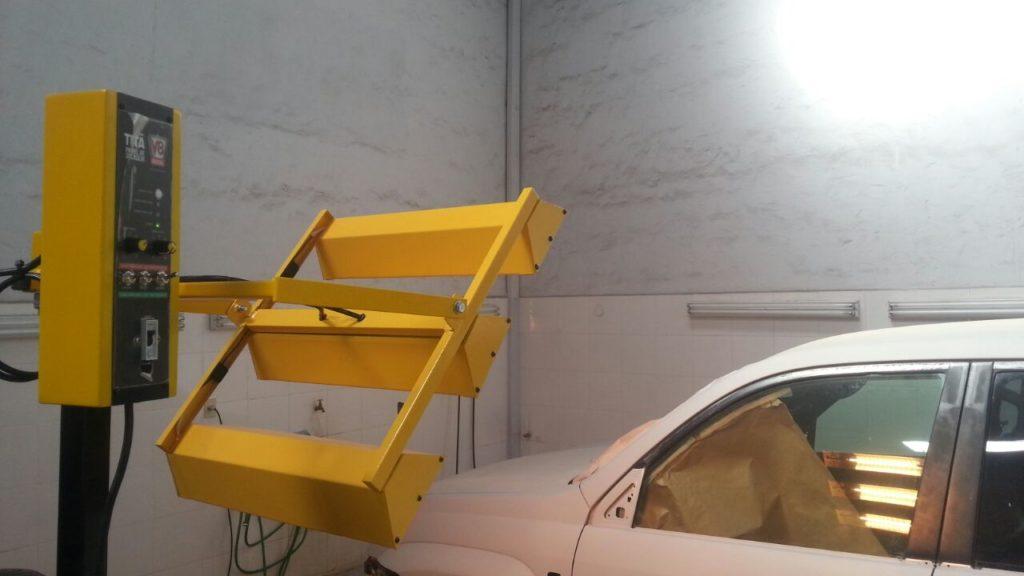 Secador de Pintura por Infrarrojo