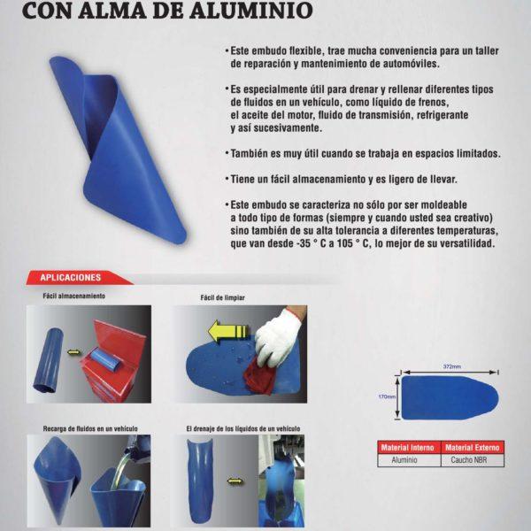 Embudo moldeable,herramientas,herramientas para taller mecanico,herramientas manuales,comprar herramientas,herramientas profesionales,juego de llaves