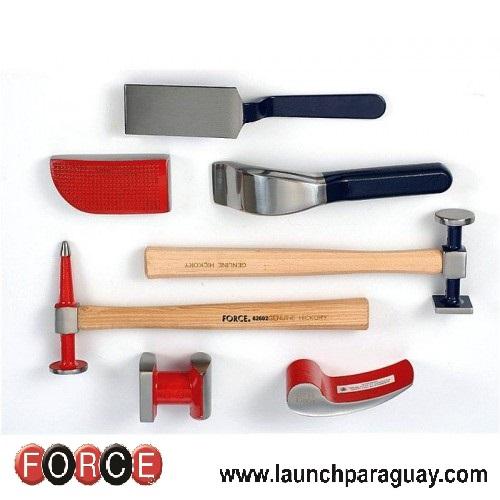 Herramientas para enderezado de chasis,herramientas para taller,herramientas taller,herramientas force,force herramientas,herramientas automotrices