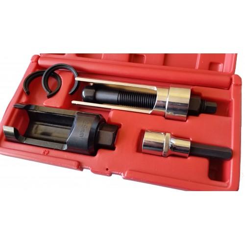 extractor de inyectores,extractor de inyectores diesel,extractor inyectores,kit sacabollos,extractor axial,como sacar un inyector diesel pegado,como sacar un inyector diesel,herramienta para sacar inyectores diesel